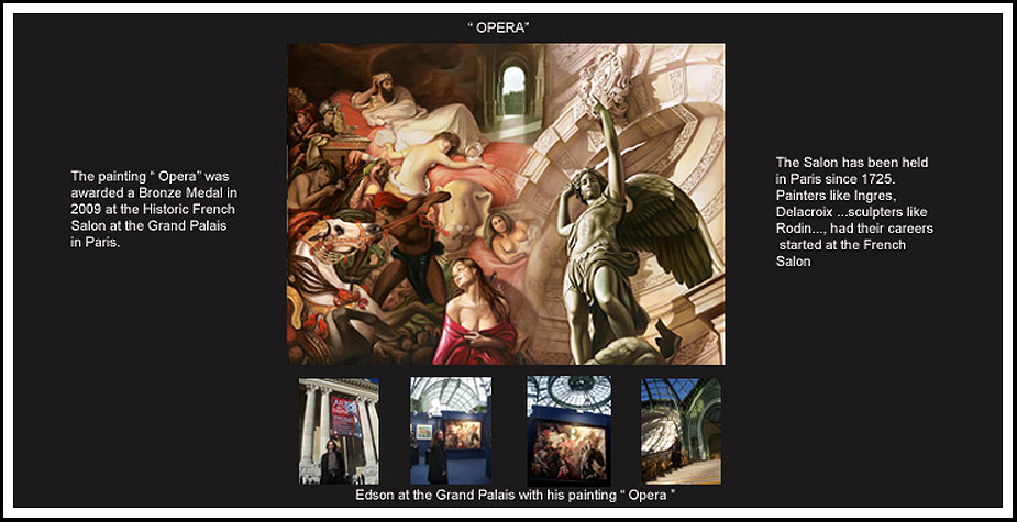 """Opera"" -copyright Edson Campos -receives the Bronze Medal"